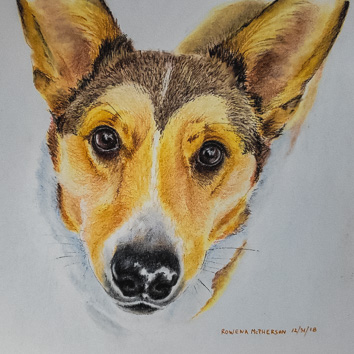 Lucy by Artist Rowena McPherson